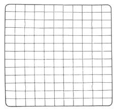Перепелиная решетка (143 ячейки) для инкубатора Несушка