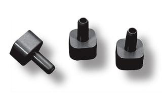 Переходник для квадратной трубы 22х22 мм на Ø 10 мм N