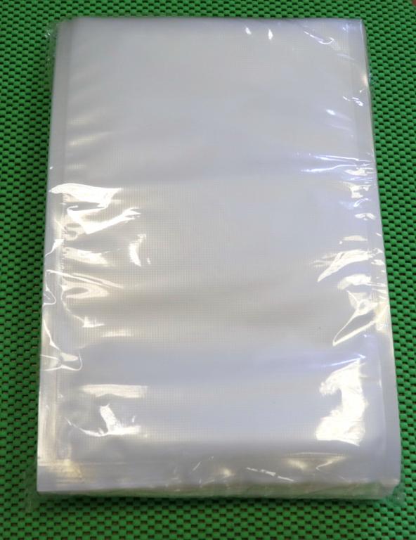 Упаковка для вакуумных машин. 25х30см (100шт). Пакет для вакуумной упаковки продуктов.