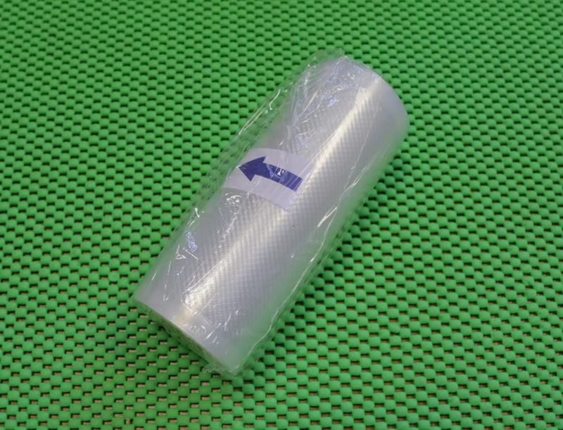 Упаковка для вакуумных машин. Рулон 12х500 см. Пакет для вакуумной упаковки продуктов.